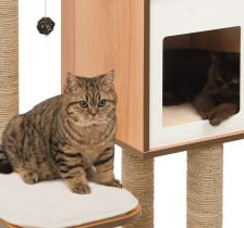 Cat condo Vesper V High Base cat tower, cat condo, cat tree