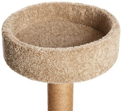 AmazonBasics Cat Activity Tree with cozy cat bed, cat bed, cat tower