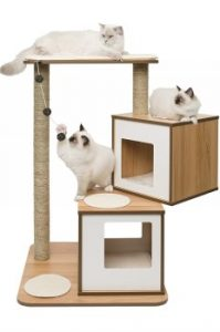 Vesper cat tree and condos, cat tower, cat tree with scratching posts